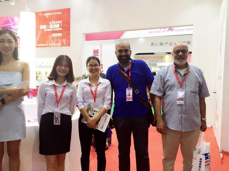 Customer  from Shanghai CIBE  2016
