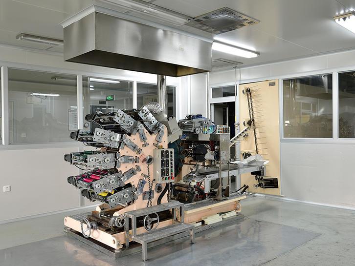 Six colors offset printing machine