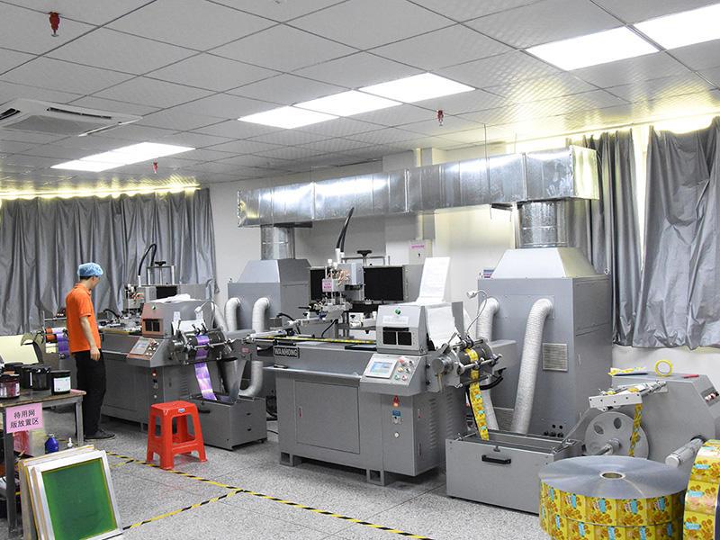 독일 용접 튜브 용 실크 스크린 인쇄 기계 수입