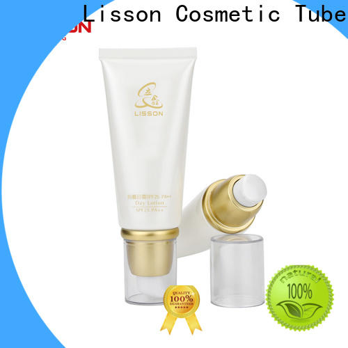 Lisson empty hand lotion pump packaging for cleanser