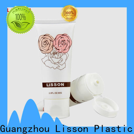 Lisson cheapest factory price cosmetic tube with flip cap wholesale for packaging