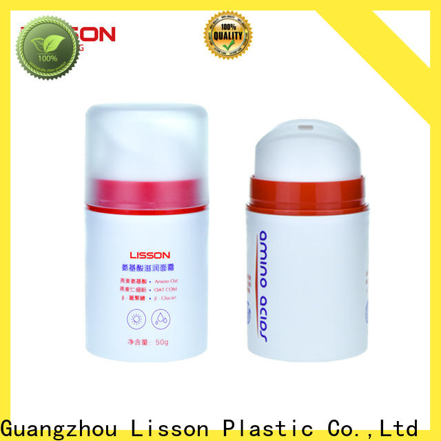 high-quality cosmetic containers plastic free delivery manufacturing