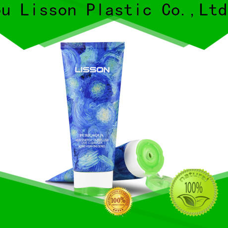 Lisson custom shape skin care packaging wholesale sunscreen packaging for storage