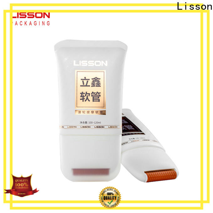 Lisson conditioner tube cosmetics packaging manufacturer for packaging