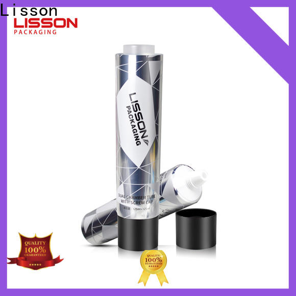 Lisson tube conditioner cosmetics packaging manufacturer for packaging