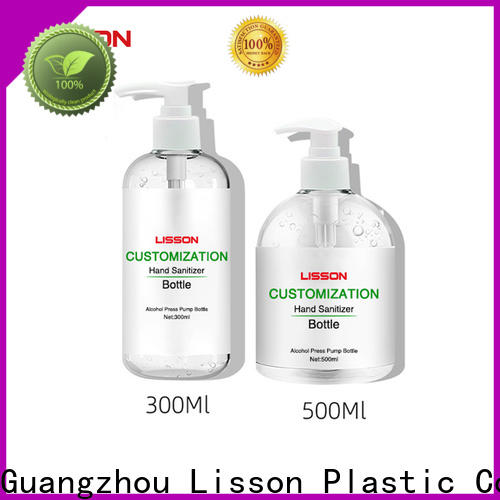 Lisson best factory price empty plastic cosmetic containers popular manufacturing