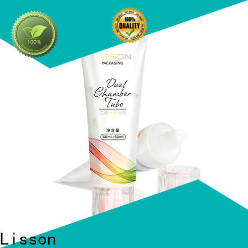 Lisson hair care packaging free sample for packaging
