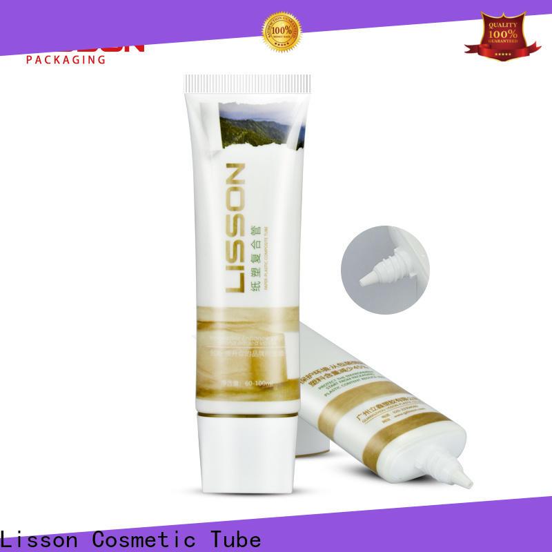 Lisson plastic tube stock bulk production for makeup