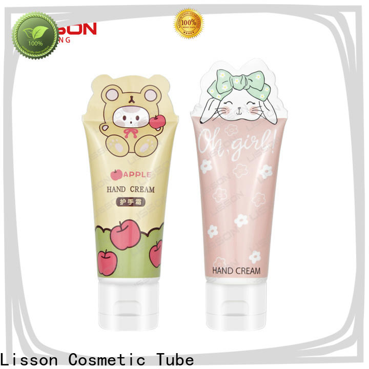 Lisson refillable hand cream packaging tubes bulk production for packing