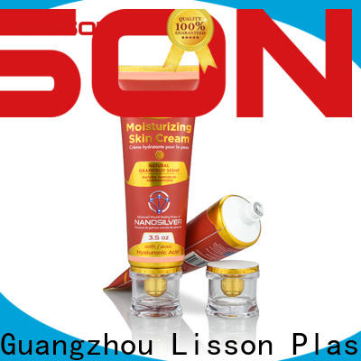 Lisson wholesale lotion tubes wholesale cosmetics packaging manufacturer for cleaner