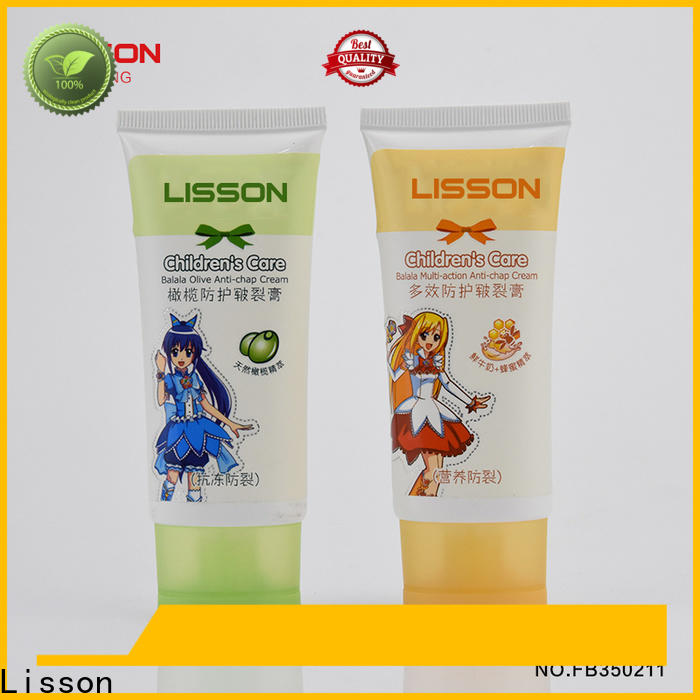 Lisson hand cream packaging tubes bulk production for makeup