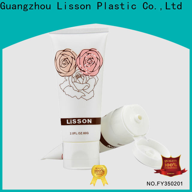 Lisson flip flop tube for makeup wholesale for cleanser