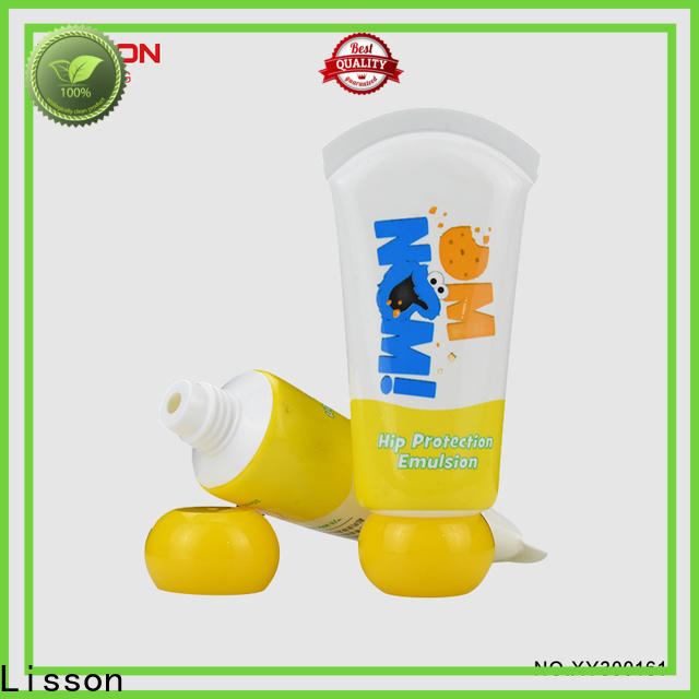 Lisson hand cream packaging tubes bulk production for storage