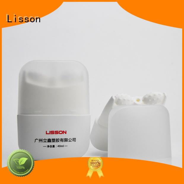 Lisson aluminium covered cosmetic dispensing tubes for skin care