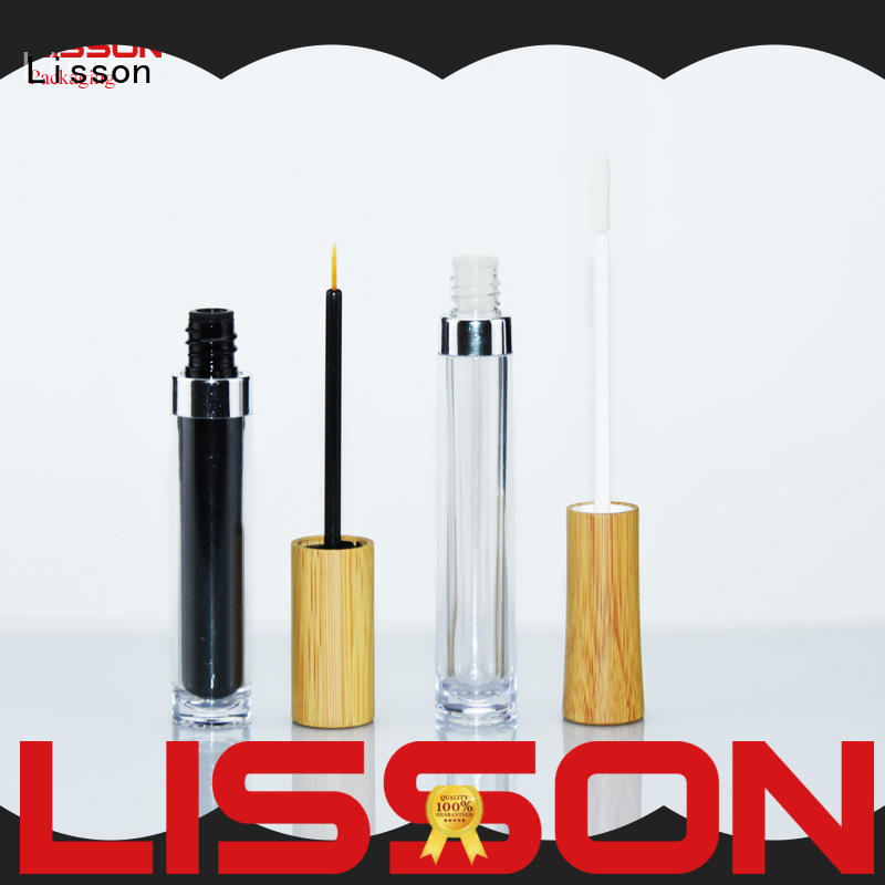 Lisson transparent lip balm containers oem service for packing