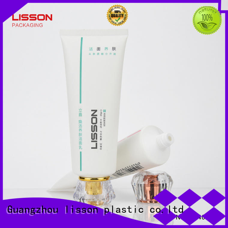 hotel acrylic washer cosmetic  Lisson Tube Package
