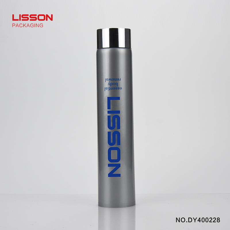 Lisson free design cosmetic tube manufacturers round rotary for essence