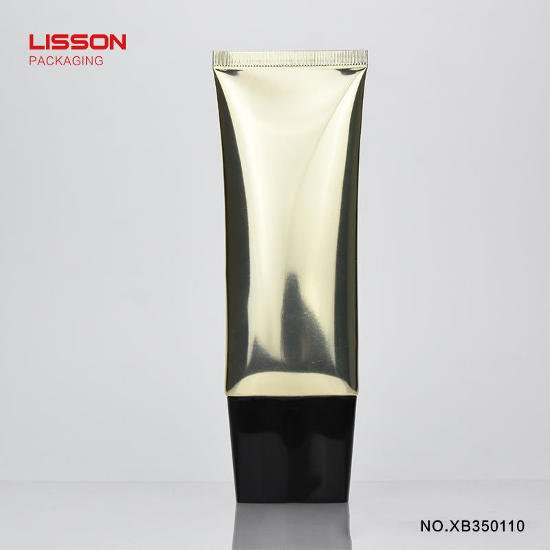 super makeup cosmetic tube luxury coating Lisson Tube Package company