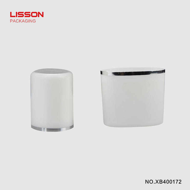 cosmetic tube manufacturers selling screw silver Lisson Tube Package Brand cosmetic tube