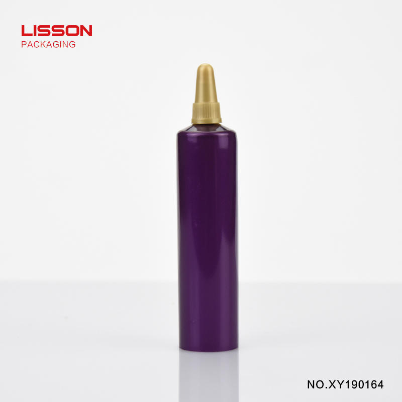 10ml round tube with bullet screw cap for essence, foundation