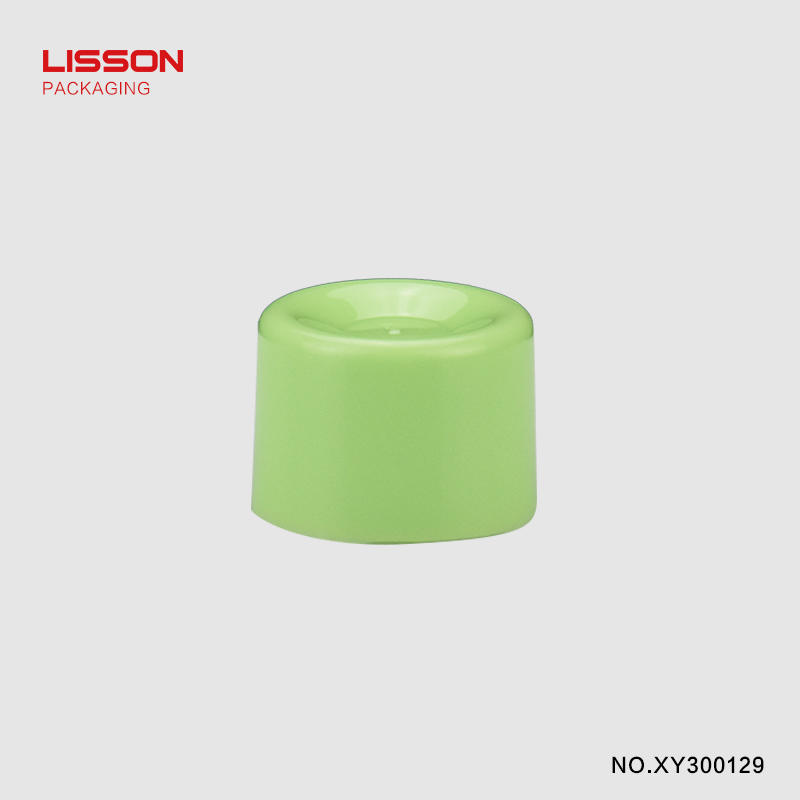 D30 Round tube with rounded angle screw cap