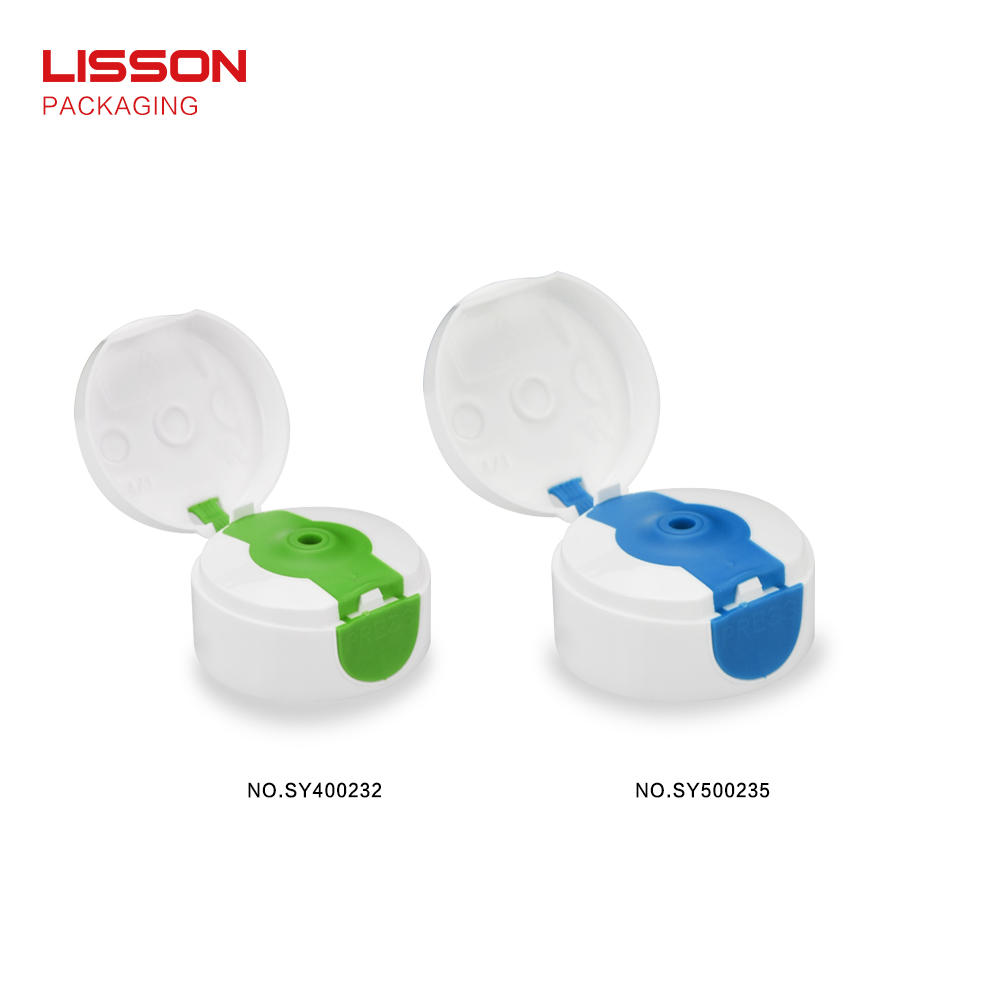 tube Custom volume green cosmetic packaging coating Lisson
