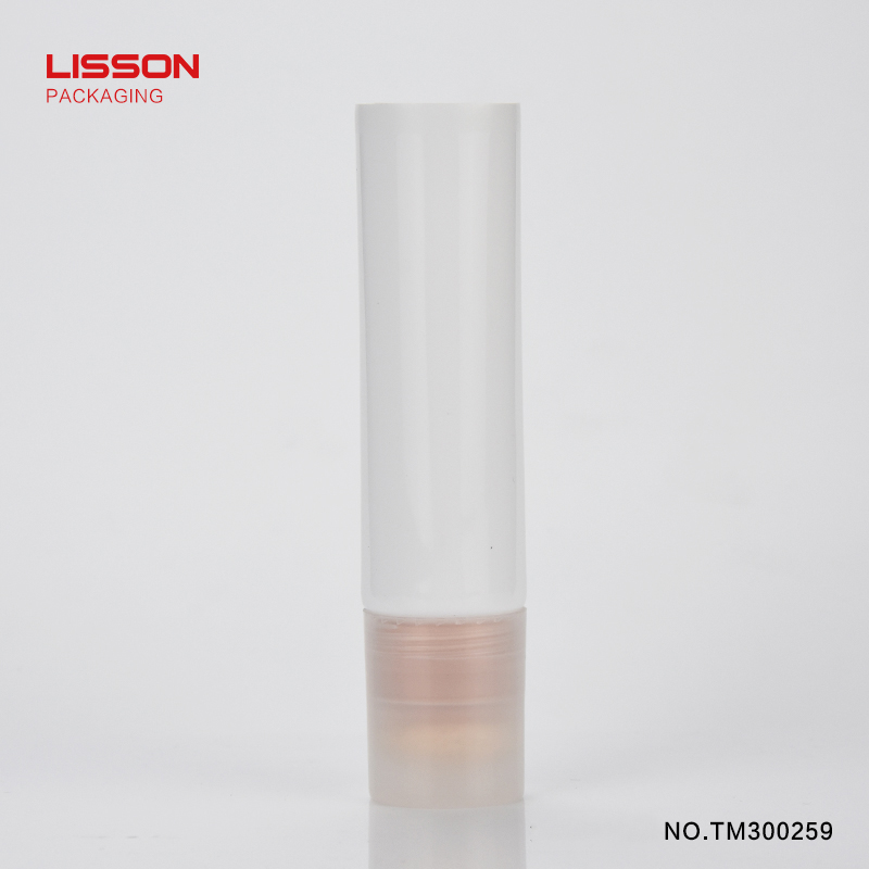 40ml facial blusher tube with cotton applicator for make-up packaging-4