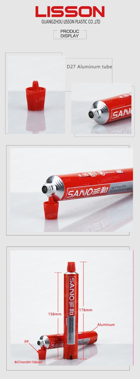 Lisson factory price metal cosmetic tubes best supplier for cream