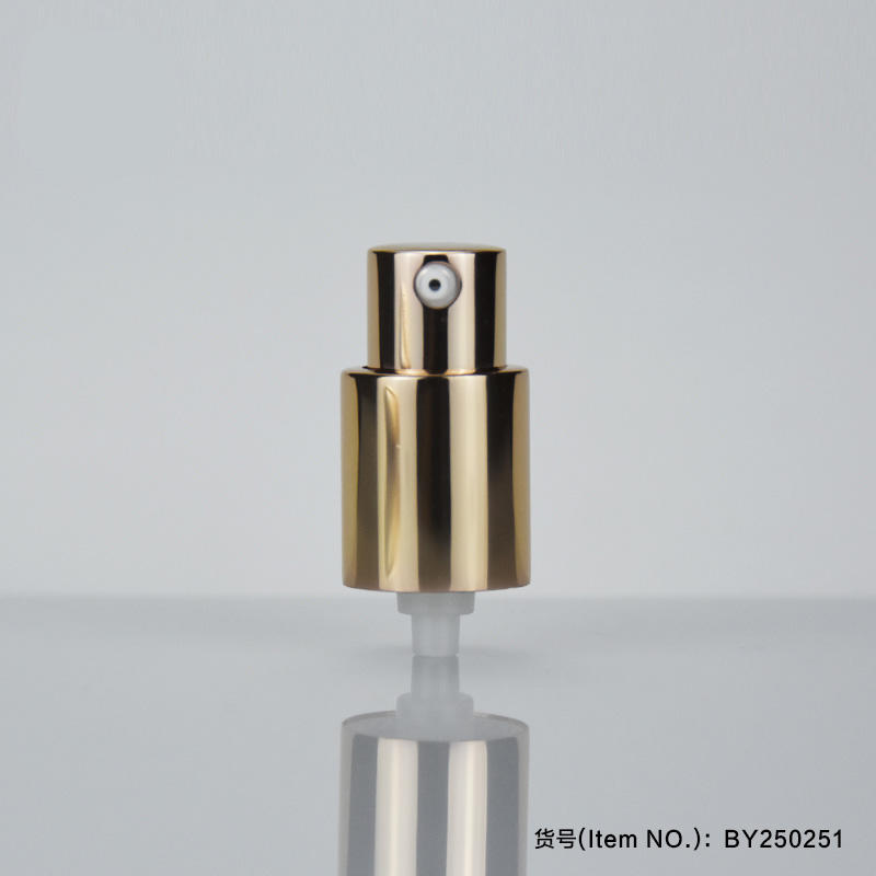 Pump Cosmetic tubes Gold color Design D25