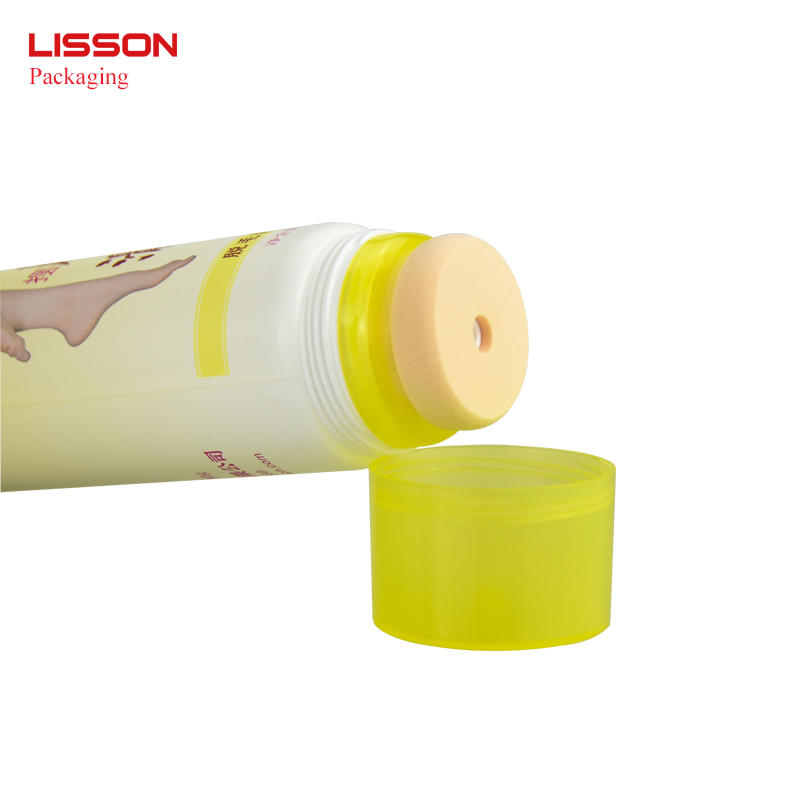 Hair Removal Tube With Soft Sponge Applicator
