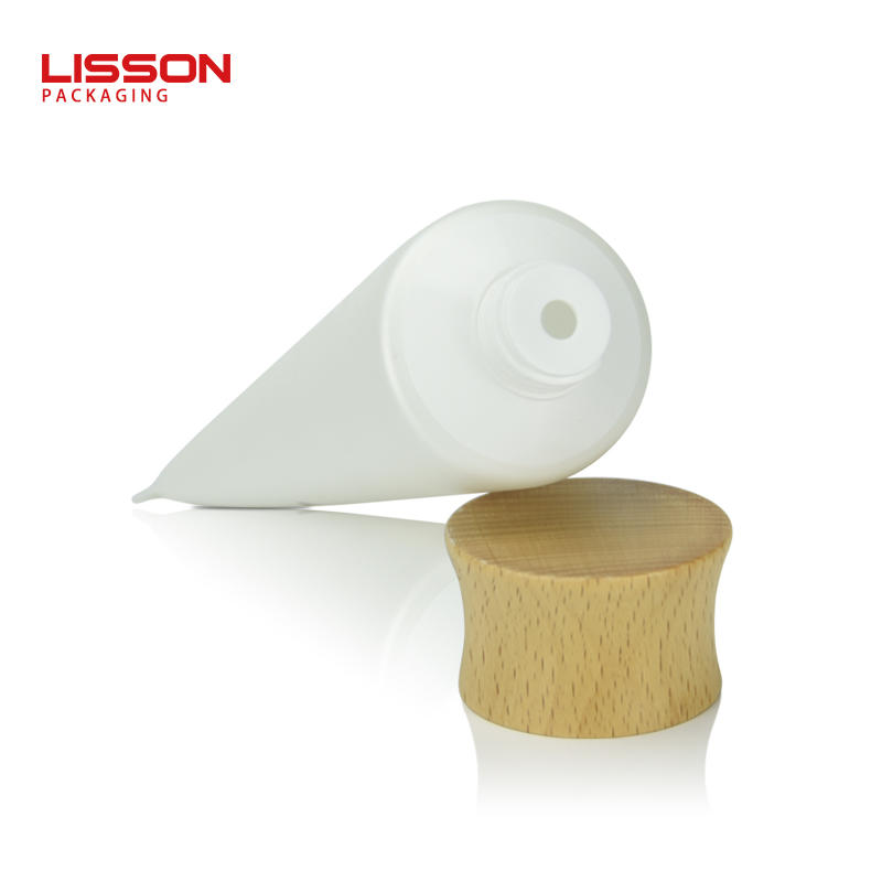 Wood Cap Lotion Tubes Customized Supplier