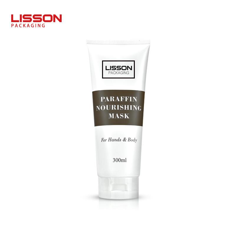 300ml Big Capacity Shampoo Lotion Tube Customized