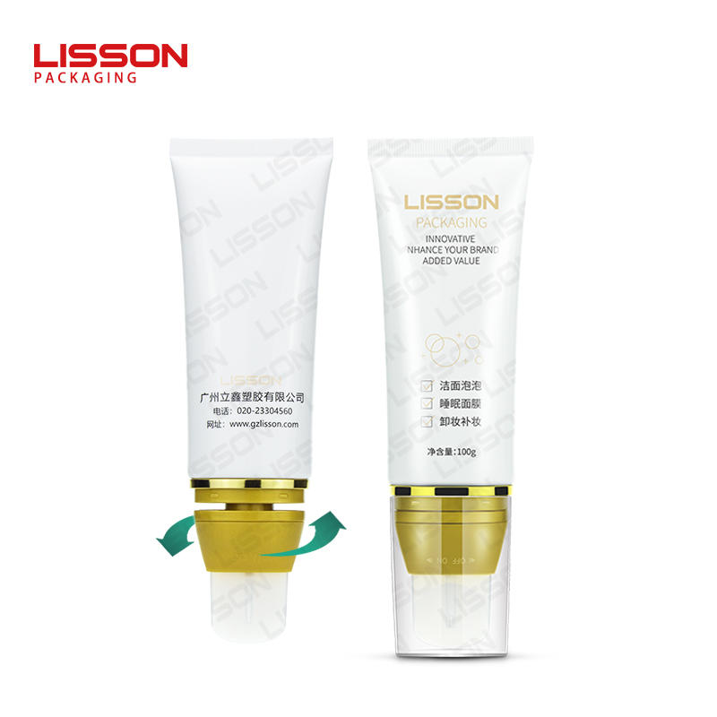 Silicone Gel Spatula Oval Bottle and Tube Packaging for Face Mask