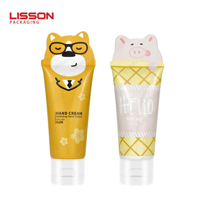 Custom Special Shape Tube for Children Hand Cream