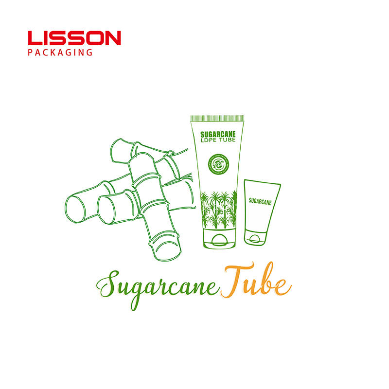 New Arrivals Sustainable Packaging Sugarcane Tube for Skincare