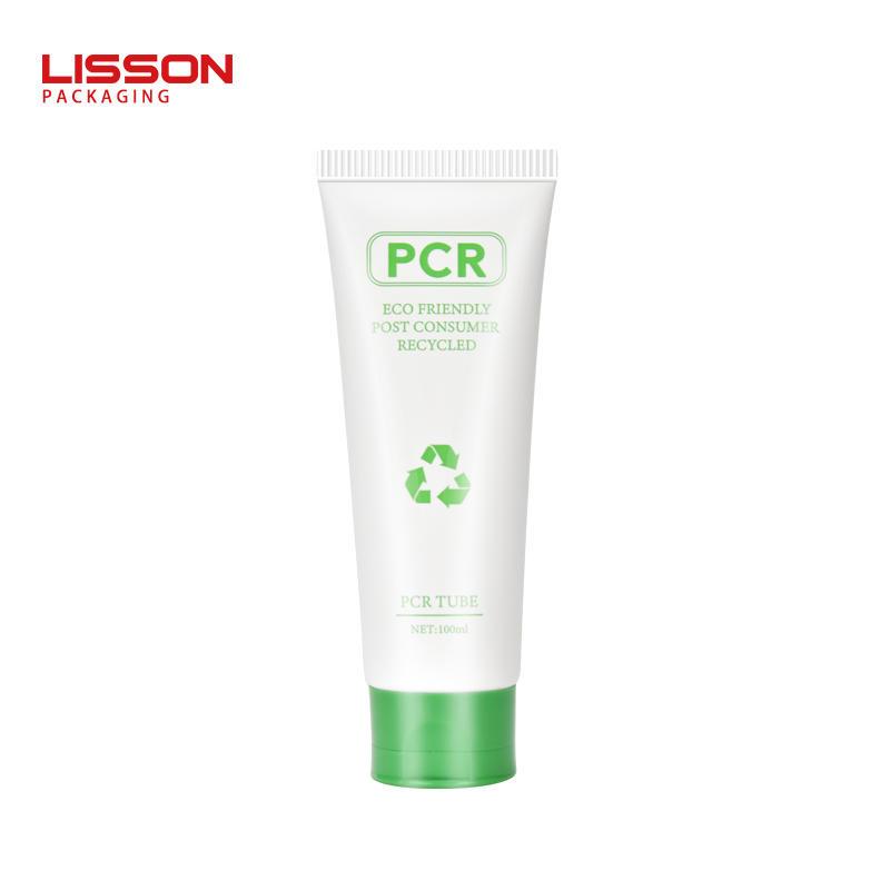 사용자 지정 녹색 PCR 플라스틱 튜브 포장 OEM 서비스