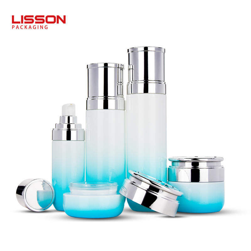 Factory Customize 30g 50g 100ml 120ml Cosmetic Jars Glass Bottle Sets