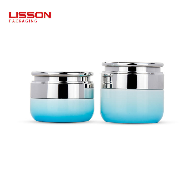 luxury 30g eye cream jar 50g skincare face cream jar glass bottle