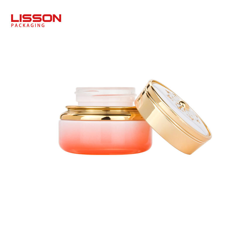 50g cosmetic glass bottle face cream jar eye cream container
