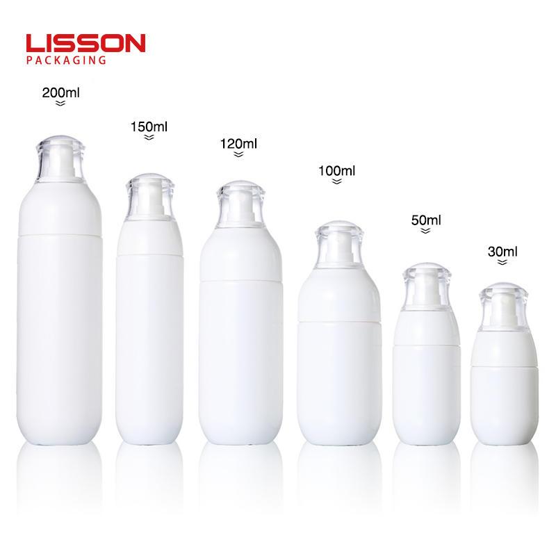30ml- 200ml 흰색 화장품 플라스틱 미스트 스프레이 병