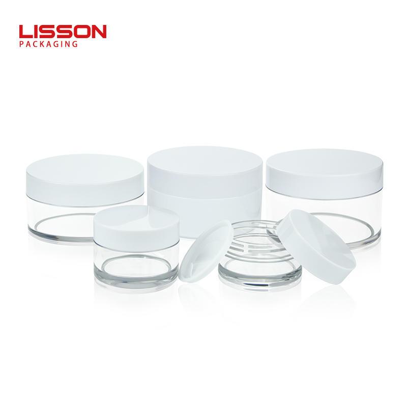 15ml 30ml 80ml 100ml 120ml 200ml cosmetic jars ABS plastic face eye cream bottle