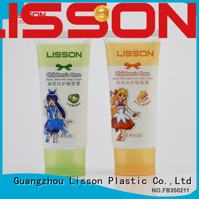 refillable hand cream tube packaging screw cap for packing Lisson