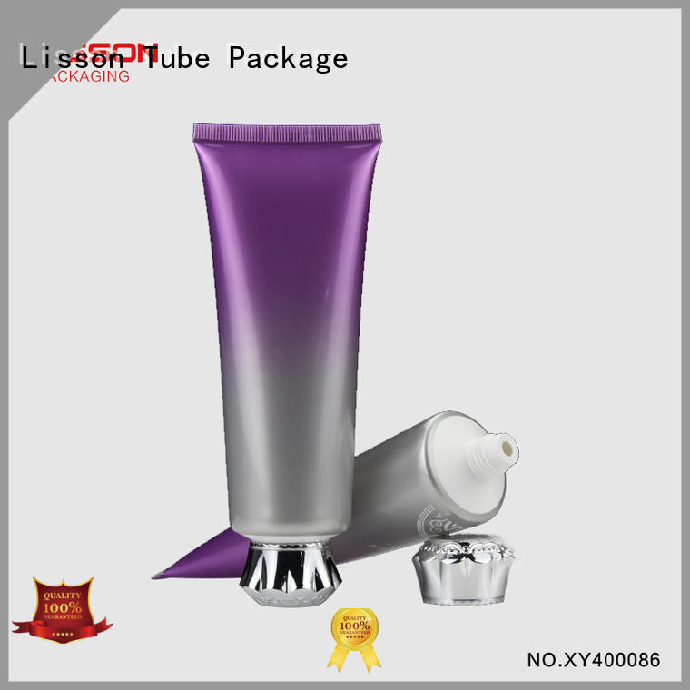 cosmetic tubes wholesale luxury shape Lisson Tube Package Brand company