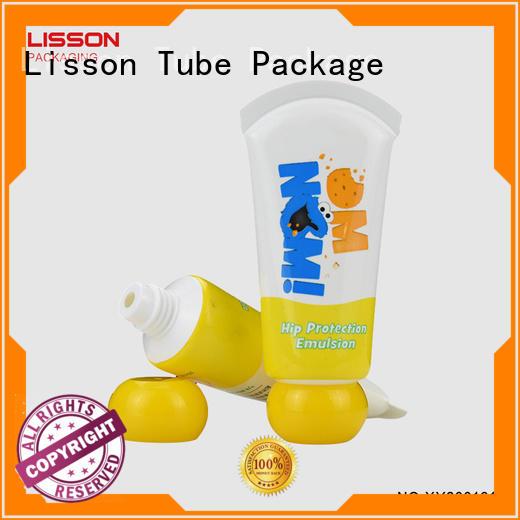 sealed top cap tube  Lisson Tube Package Brand