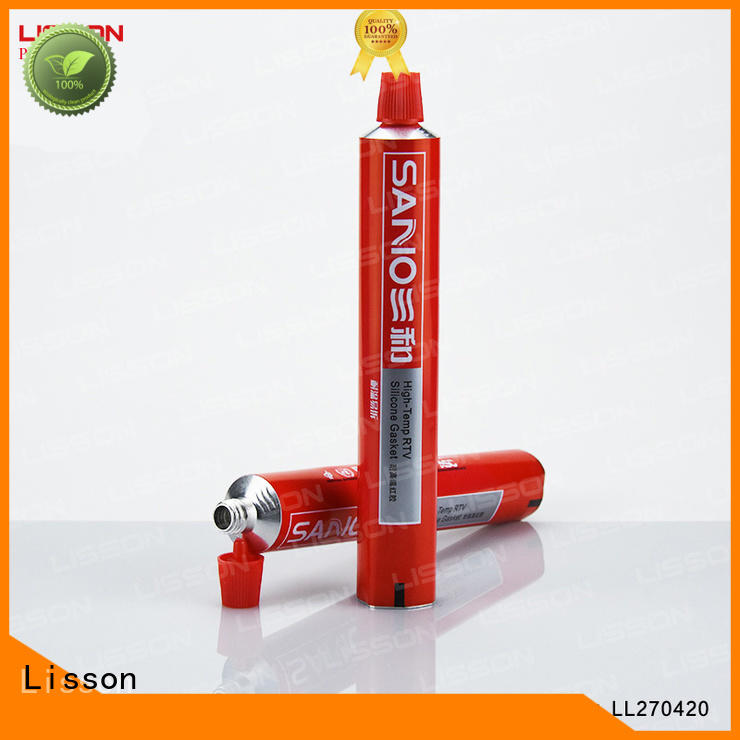Lisson durable aluminum round tube best manufacturer for cream