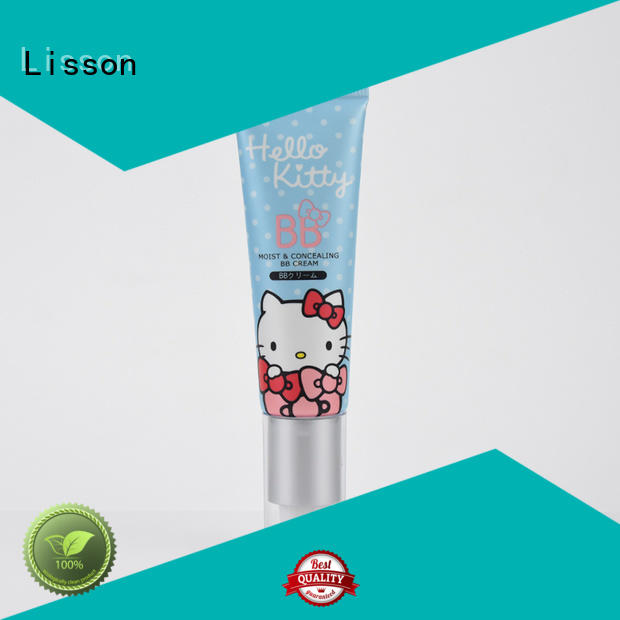 Lisson round airless tube packaging for lotion