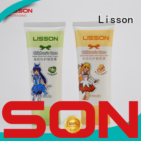 Lisson ecofriendly wholesale lotion squeeze tubes at discount for packing