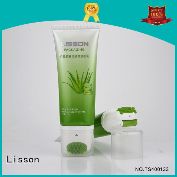right angle lotion tubes gold high-end for cream