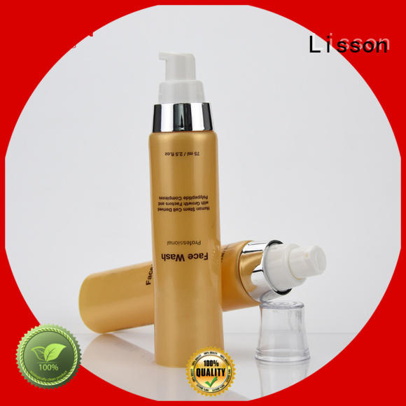 packaging hand lotion pump oval for cleanser
