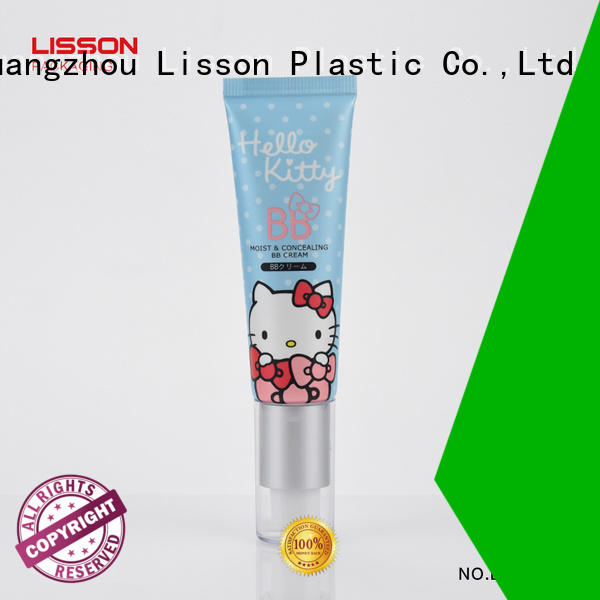 Lisson airless pump bottles wholesale packaging for cosmetic